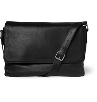 Marc By Marc Jacobs Leather Messenger Bag Black