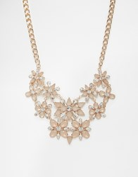 Coast Eadie Floral Necklace Gold