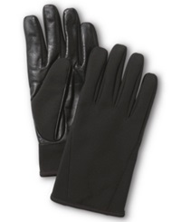 Ur Gloves Ur Powered Gloves Softshell Leather Palm Tech Black