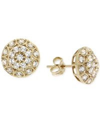 Wrapped In Love Diamond Pave Earrings 1 2 Ct. T.W. In 14K Gold Yellow Gold