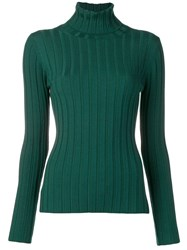 Aspesi Turtle Neck Jumper Green