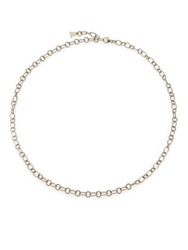 Temple St. Clair 18K Yellow Gold Ribbon Necklace Chain 18