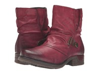 Rieker 79682 Wine Mogano Women's Dress Boots Red