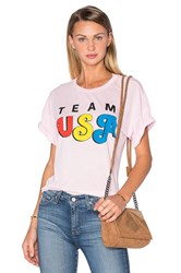 Wildfox Couture Team Usa Tee Pink