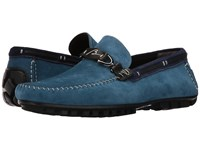 Bacco Bucci Flavio Royal Blue Navy Men's Shoes