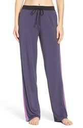 Dkny Women's Pajama Pants Purple Grey