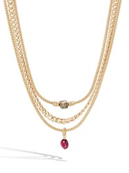 John Hardy Adwoa Aboah 18K Yellow Gold And Mixed Stone Classic Chain