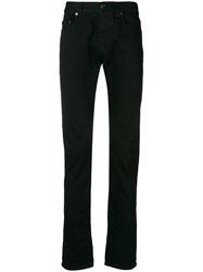 Saint Laurent Slim Fit Denim Jeans Black