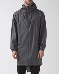 Rains Grey Waterproof Parka