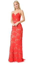 Catherine Deane Jolie Gown Red