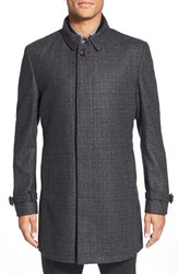 Men's Ted Baker London 'Alabama' Wool Overcoat