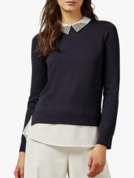 Ted Baker Liaylo Jumper Blue Navy