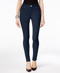 Inc International Concepts Ponte Skinny Pants Only At Macy's Deep Twilight