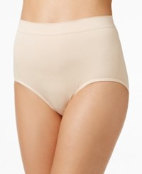 Vanity Fair Seamless Smoothing Brief 13264 Damask Neutral