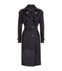 Burberry London The Lightweight Trench Coat Female Navy