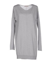 Bruno Manetti Dresses Short Dresses Women Light Grey