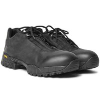 Alyx Oiled Suede Hiking Boots Black