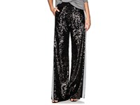 Alberta Ferretti Sequin Embellished Track Pants Black