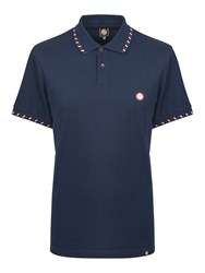 Pretty Green Men's Elmwood Polo Navy