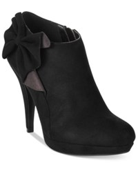 Impo Portia Bow Booties Women's Shoes Black