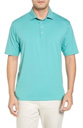 Bobby Jones 'S Liquid Cotton Stretch Jersey Polo Wintergreen