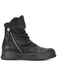 Cinzia Araia Ca By Zipped Boots Black