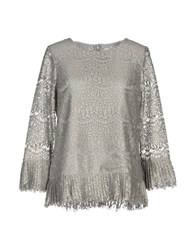 Darling Blouses Grey
