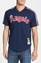 Mitchell And Ness 'Reggie Jackson California Angels' Authentic Mesh Bp Jersey Blue