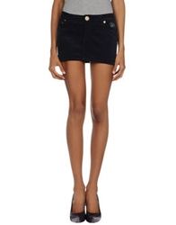 Atelier Fixdesign Mini Skirts Dark Blue