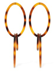 Cult Gaia Trio Earrings Tortoiseshell