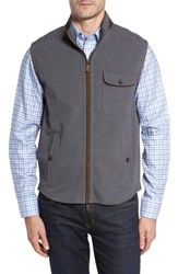Thaddeus Men's Robert Full Zip Vest Graphite