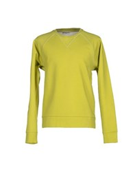 Balenciaga Topwear Sweatshirts Men Acid Green