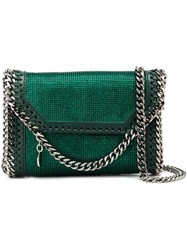 Stella Mccartney 'Tiny Fold Over' Crossbody Bag Green