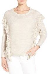 Women's Dex Fringe Trim Sweater