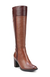 Naturalizer Women's 'Frances' Tall Boot Brown Leather
