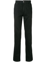 7 For All Mankind Straight Leg Chinos Black