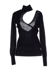 Fracomina Turtlenecks Black