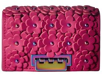 Zac Posen Earthette Card Case Magenta Clutch Handbags Pink