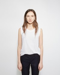 Zucca Muscle Tank White