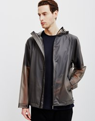 Hunter Original Vinyl Windcheater Jacket Grey