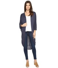 Lamade Marianna Cardigan Denim Women's Sweater Blue