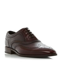 Loake Baskerville Combination Wingtip Brogues Burgundy