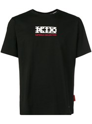 Ktz Oversized Logo T Shirt Black