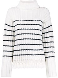 Each X Other Striped Roll Neck Jumper 60