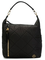 Moncler Medium Quilted Tote Black