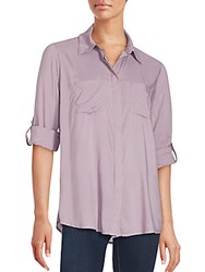 Beach Lunch Lounge Two Pocket Shirt Olive