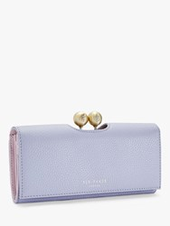 Ted Baker Josiey Leather Matinee Purse Light Blue