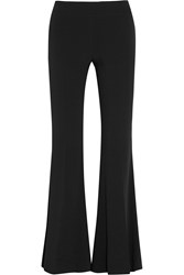 Acne Studios Mello Stretch Crepe Flared Pants