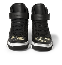 Givenchy Tyson Floral Print Leather High Top Sneakers