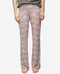 A Pea In The Pod Maternity Printed Pajama Pants Feather